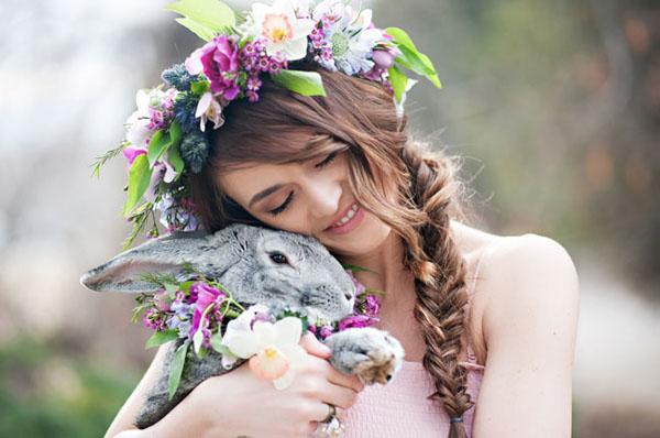 coniglio - animali ai matrimoni