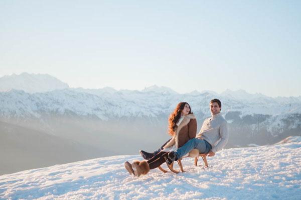 engagement session nella neve | marta guenzi 06