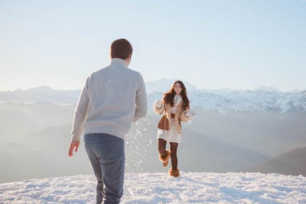 engagement session nella neve | marta guenzi 12