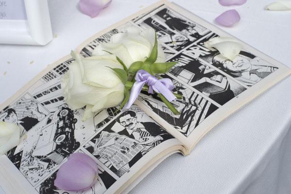 Matrimonio Tema Fumetti : Un matrimonio ispirato ai fumetti wedding wonderland