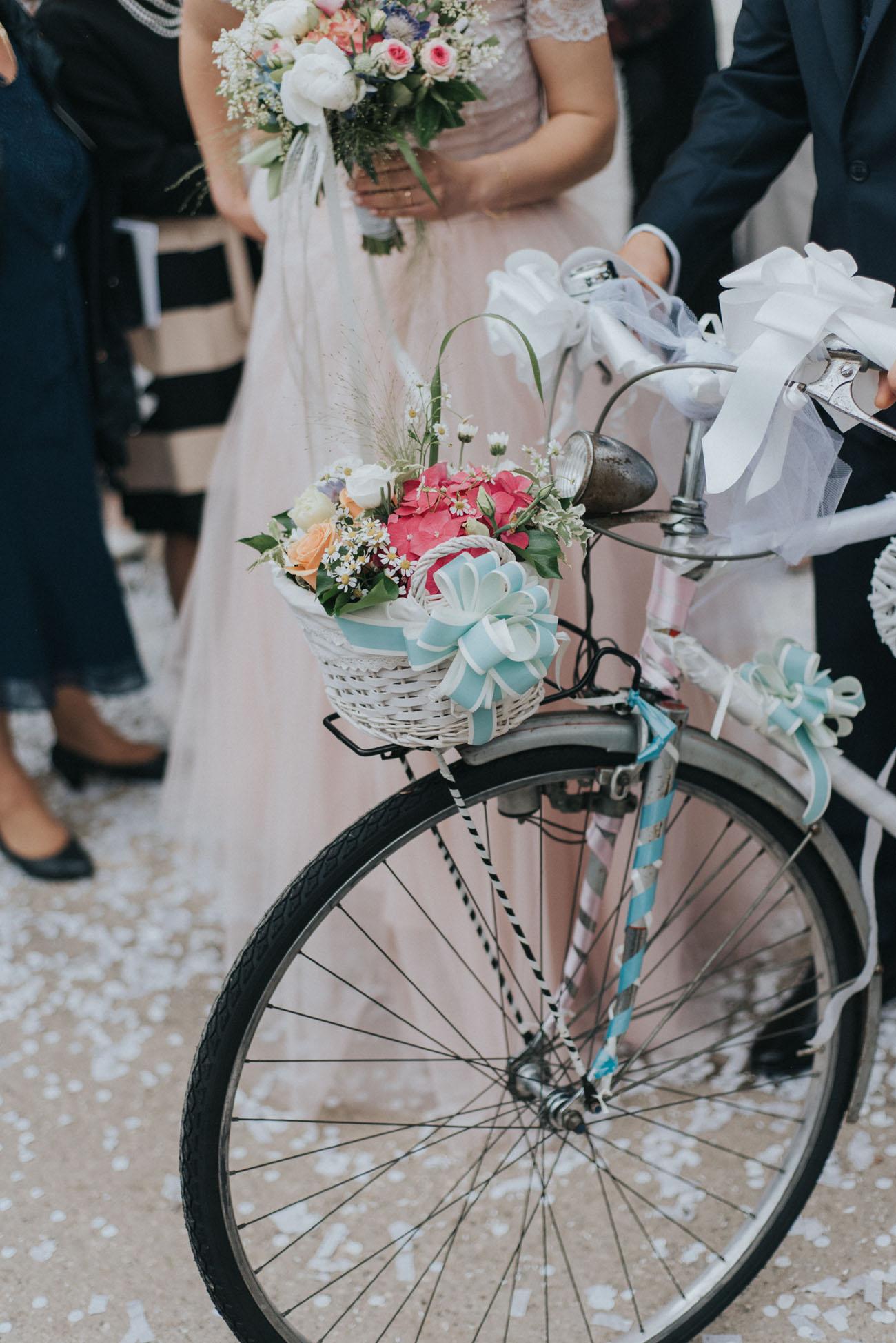 bicicletta per gli sposi