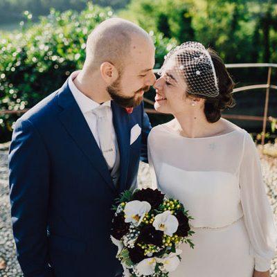 Un matrimonio rustico e botanico in autunno