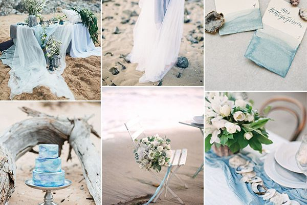 Inspiration board: Coastal blue