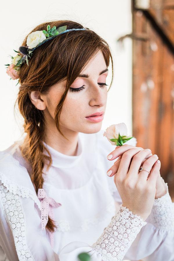 matrimonio boho chic azzurro e rosa   lisa di giglio   wedding wonderland 22