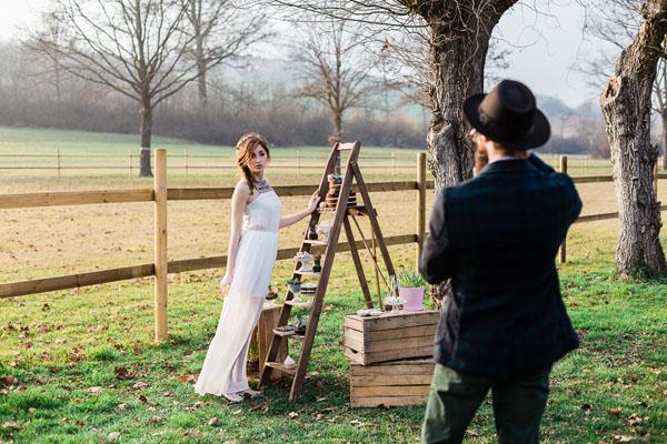 matrimonio boho chic azzurro e rosa   lisa di giglio   wedding wonderland 25