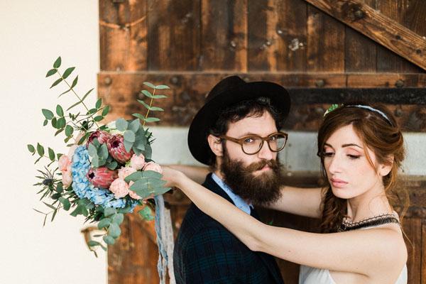 matrimonio boho chic azzurro e rosa   lisa di giglio   wedding wonderland 26