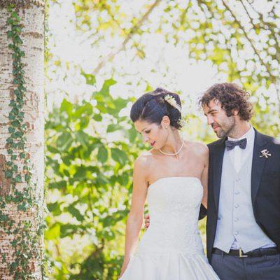Un delicato matrimonio country chic