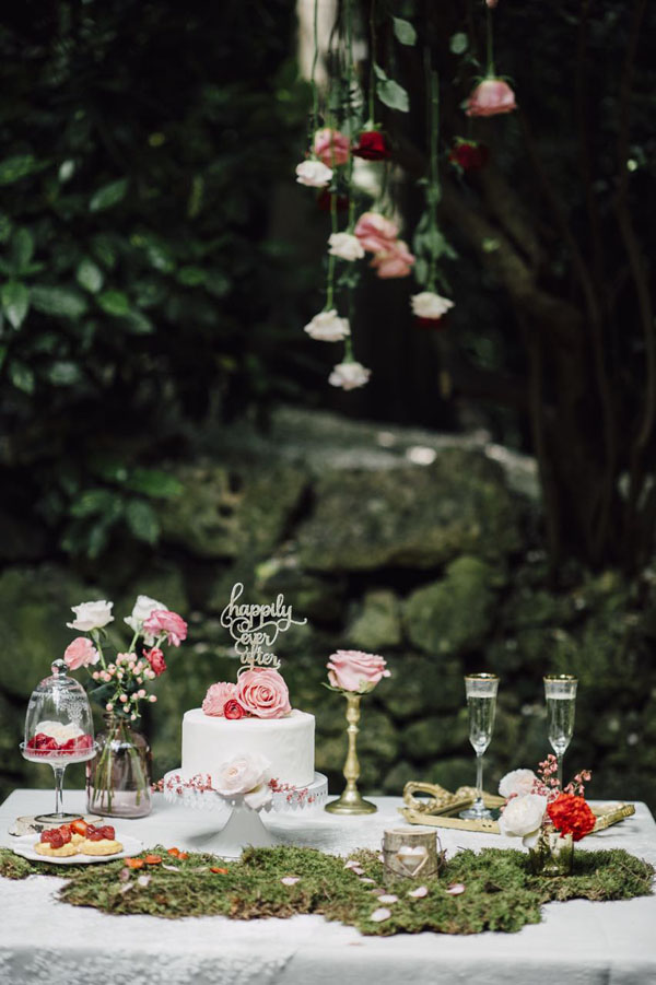 matrimonio ispirato a la bella addormentata nel bosco | from italy with love | wedding wonderland 20
