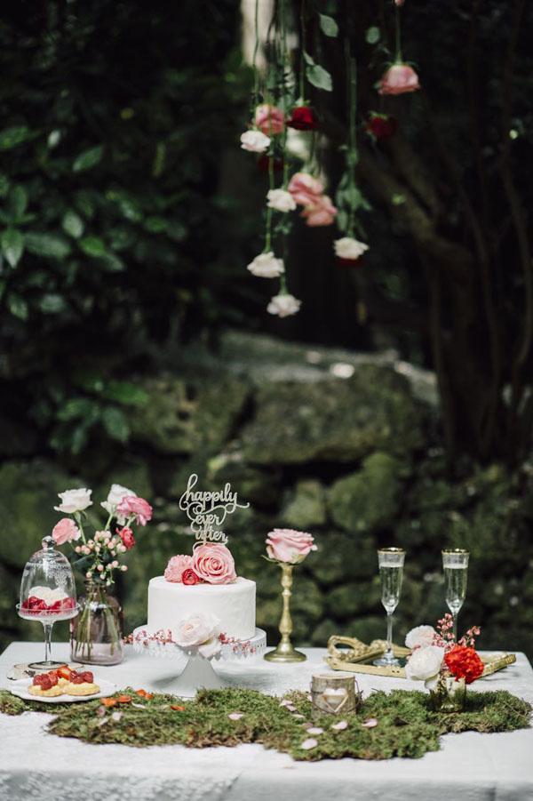 matrimonio ispirato a la bella addormentata nel bosco | from italy with love | wedding wonderland 20