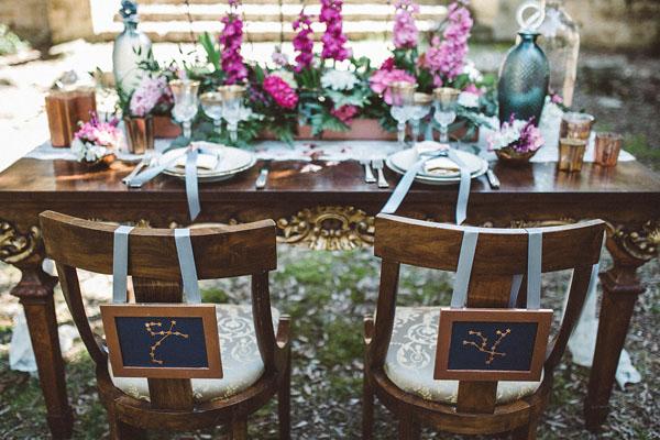 matrimonio ispirato alle stelle e alle costellazioni | come le ciliegie | wedding wonderland 06