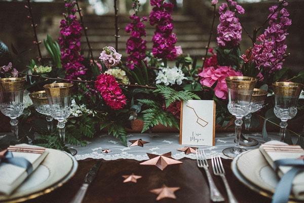 matrimonio ispirato alle stelle e alle costellazioni | come le ciliegie | wedding wonderland 18
