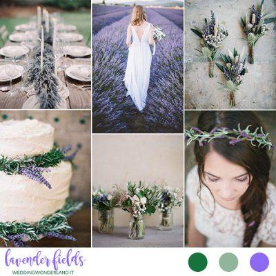 Inspiration board: Lavender fields