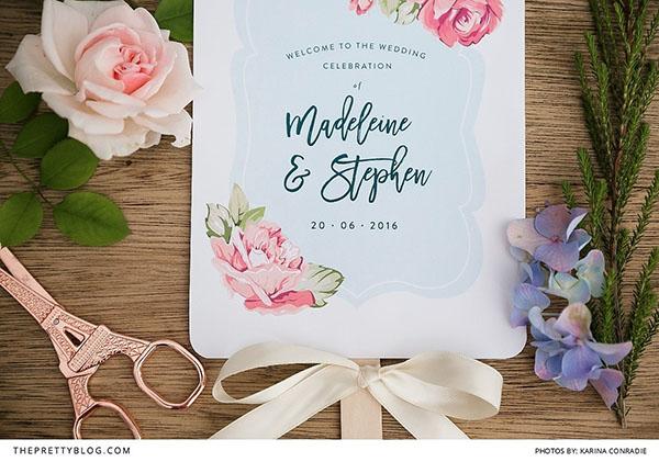 ventaglio matrimonio fai da te