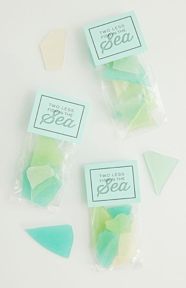 vetri di mare di zucchero fai da te