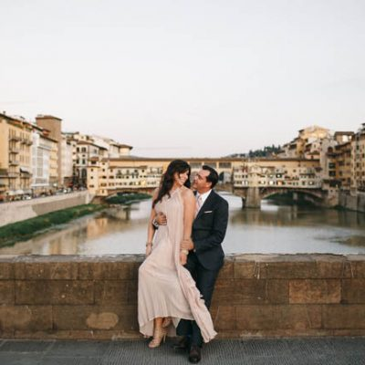 Una engagement session a Firenze