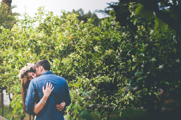 engagement session in masseria