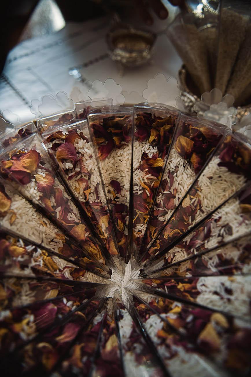 scatoline porta riso e petali