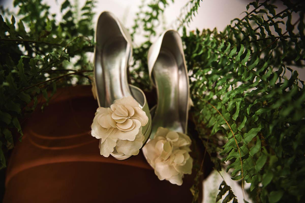 scarpe da sposa open toe champagne