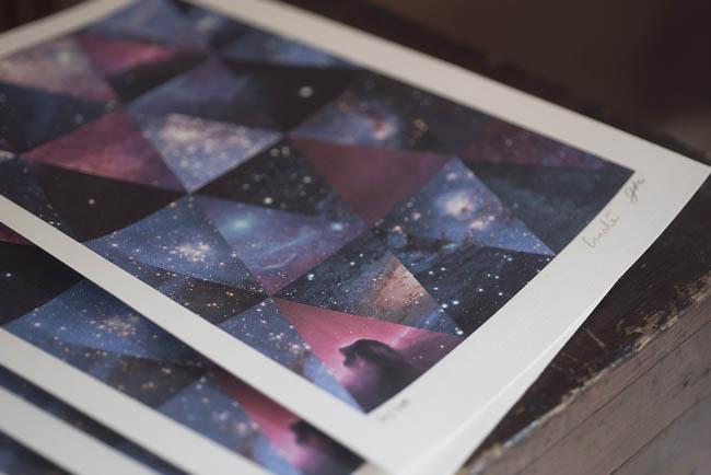 illustrazioni astronomiche come bomboniere