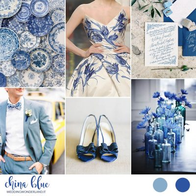 Inspiration board: China Blue