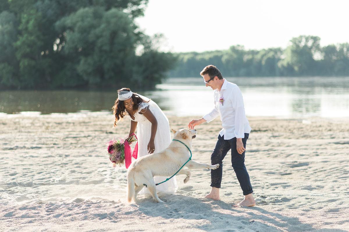 matrimonio boho chic sulla spiaggia