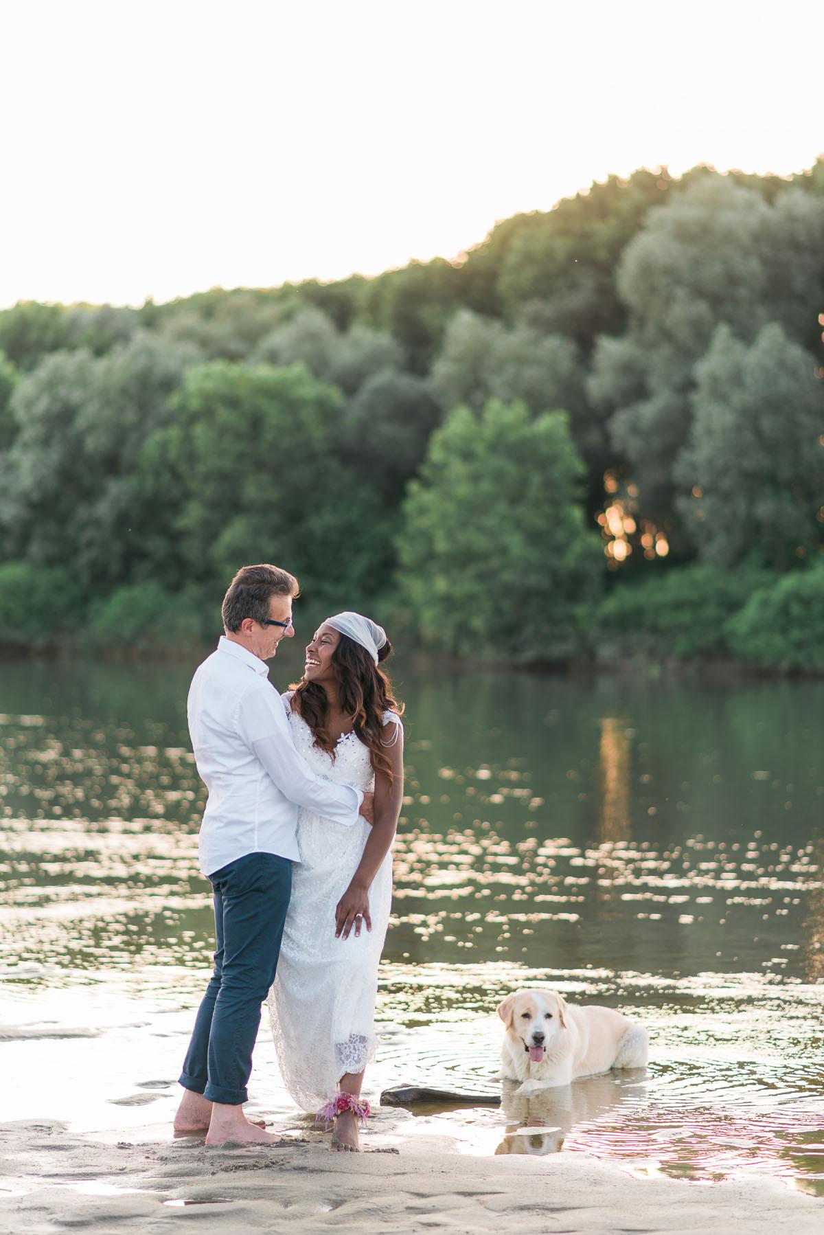 matrimonio boho chic sulle rive del po
