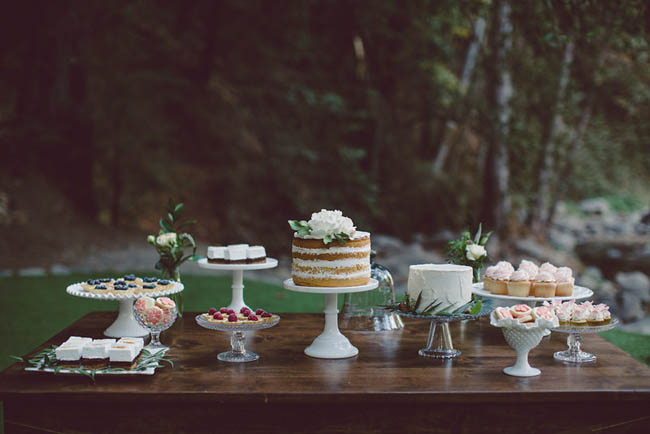 sweet table matrimonio rustico