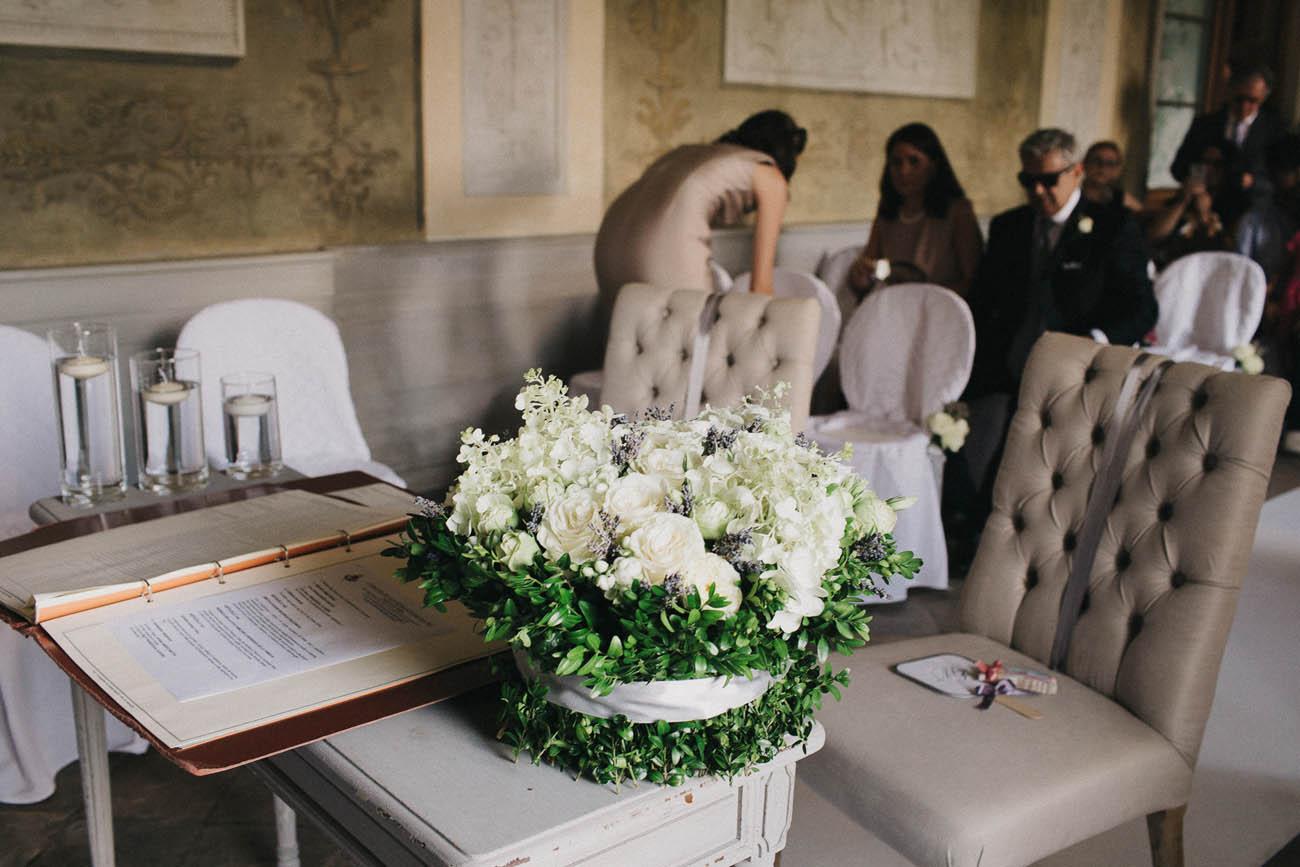 cerimonia elegante in comune