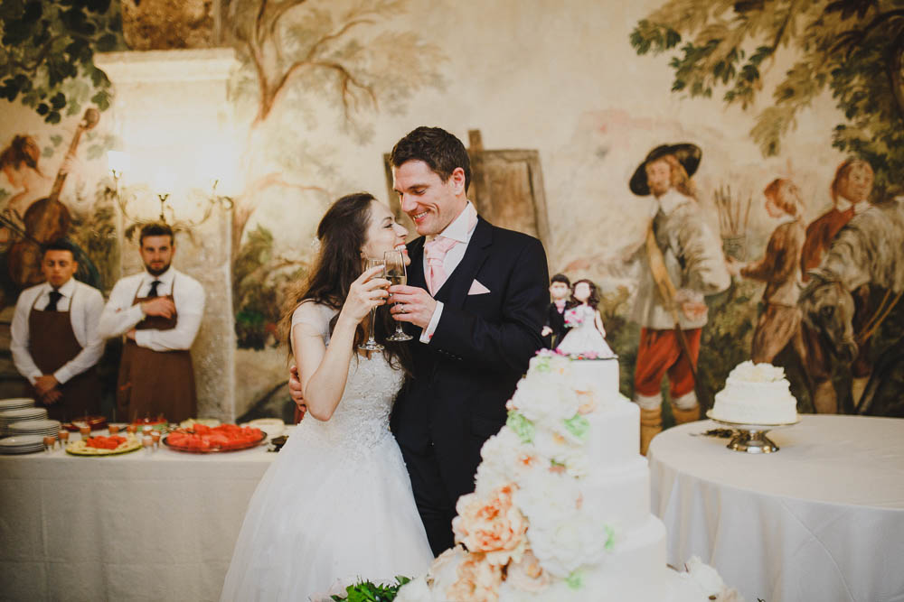 matrimonio primaverile dai colori pastello