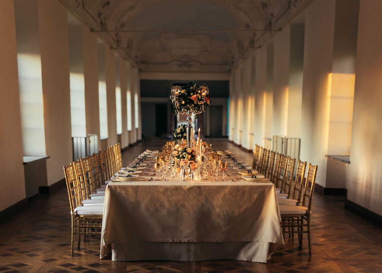 tavolo imperiale matrimonio