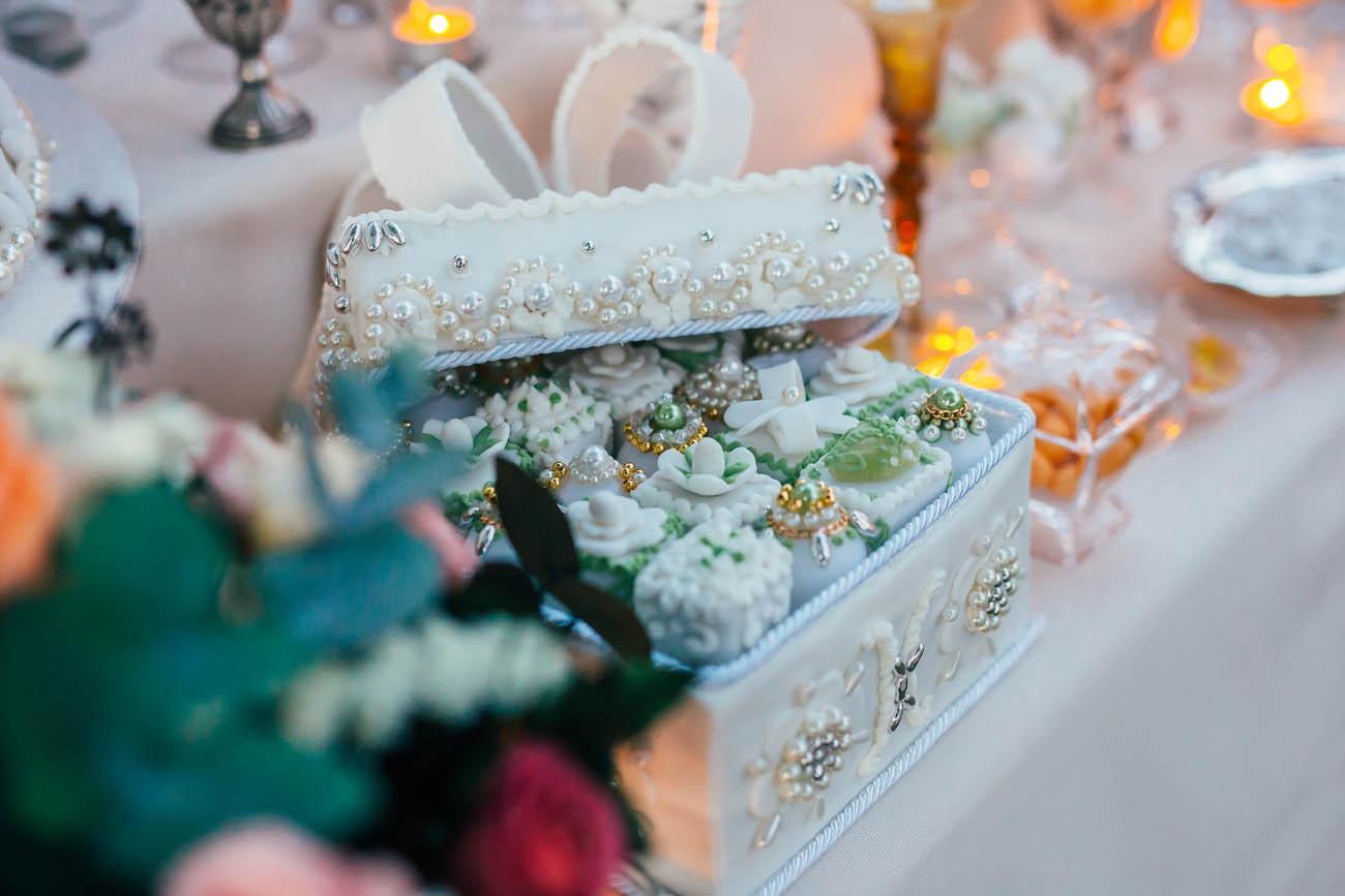 sweet table oro e argento