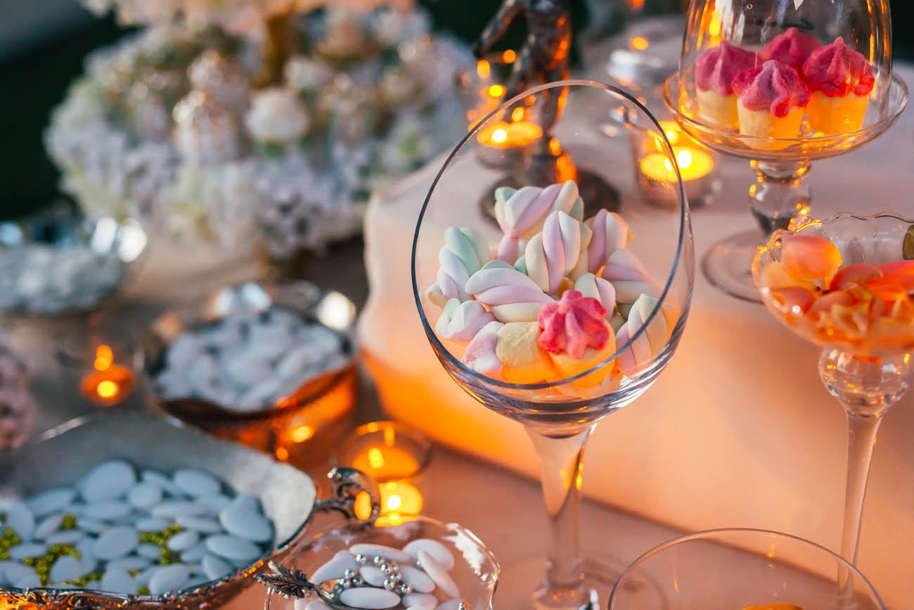 candy buffet matrimonio