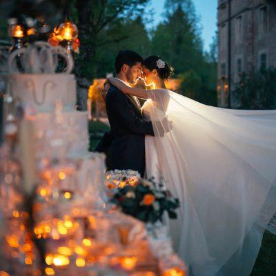 Un romantico matrimonio in villa tra tradizione e trend