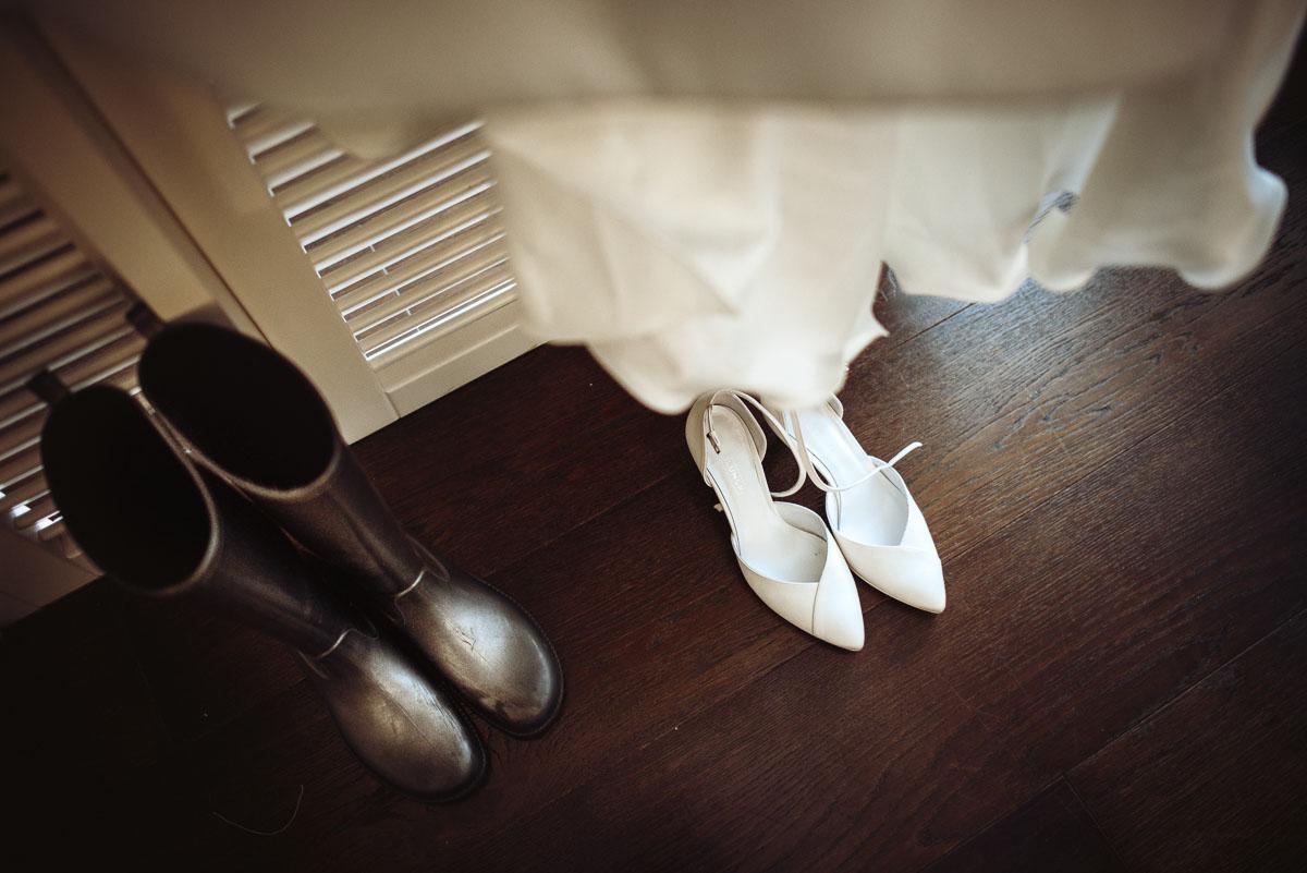 scarpe da sposa con cinturino