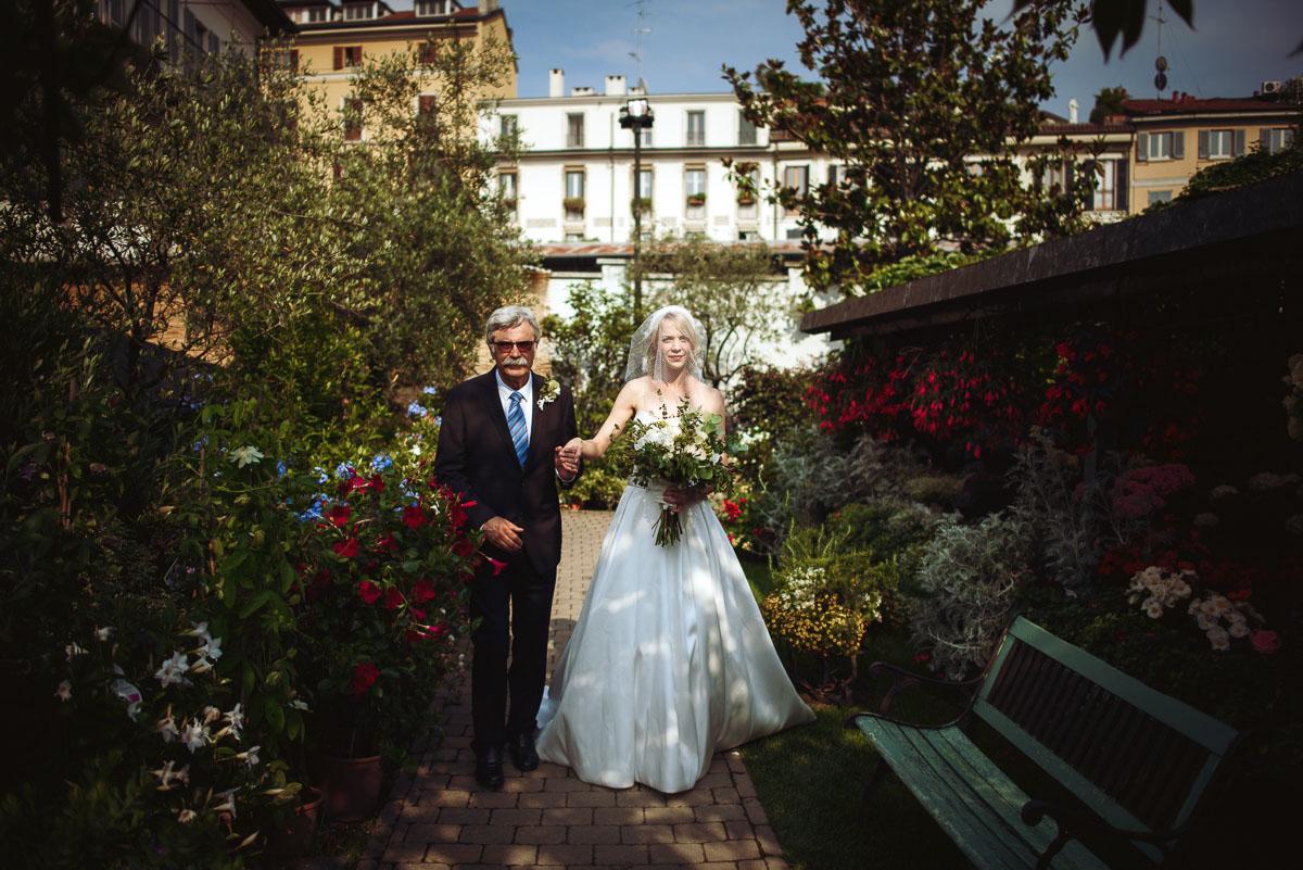 matrimonio al vivaio riva a milano