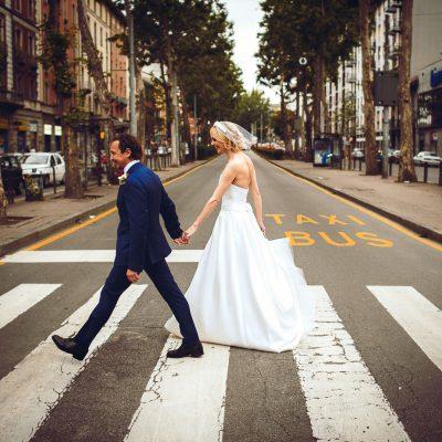 Un matrimonio incredibilmente chic a Milano