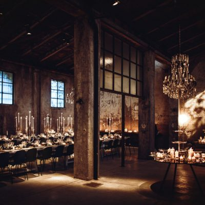 Un matrimonio industrial chic in 7 step