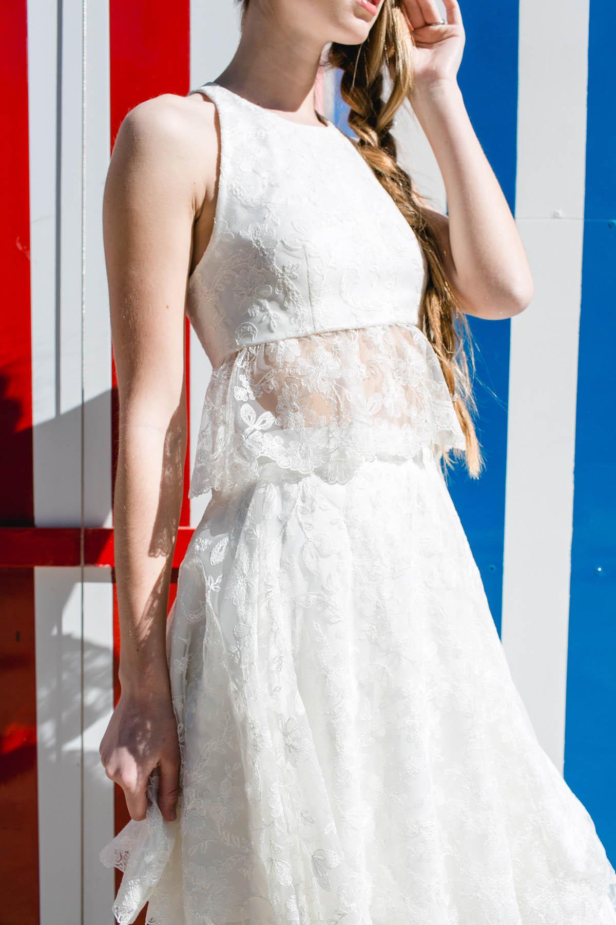 abito da sposa boho chic di marianna lanzilli