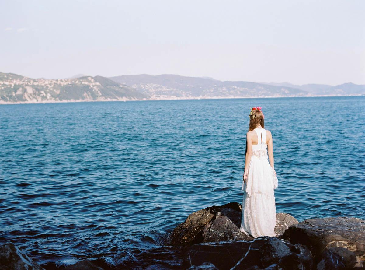 abito da sposa boho chic