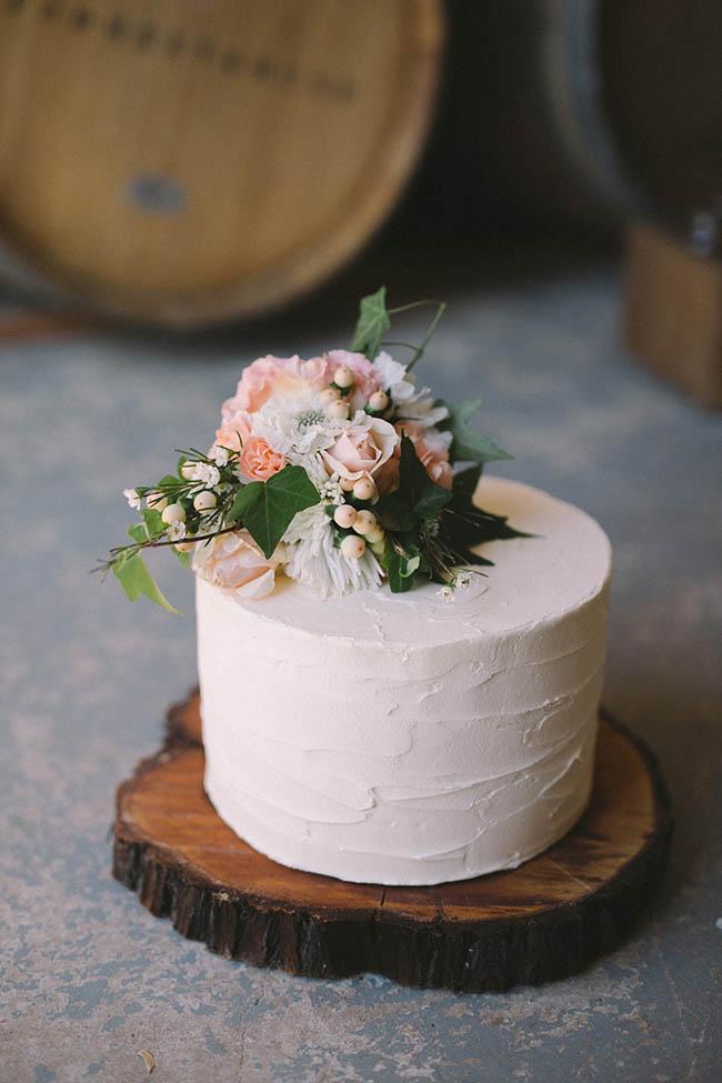 wedding cake a un solo strato
