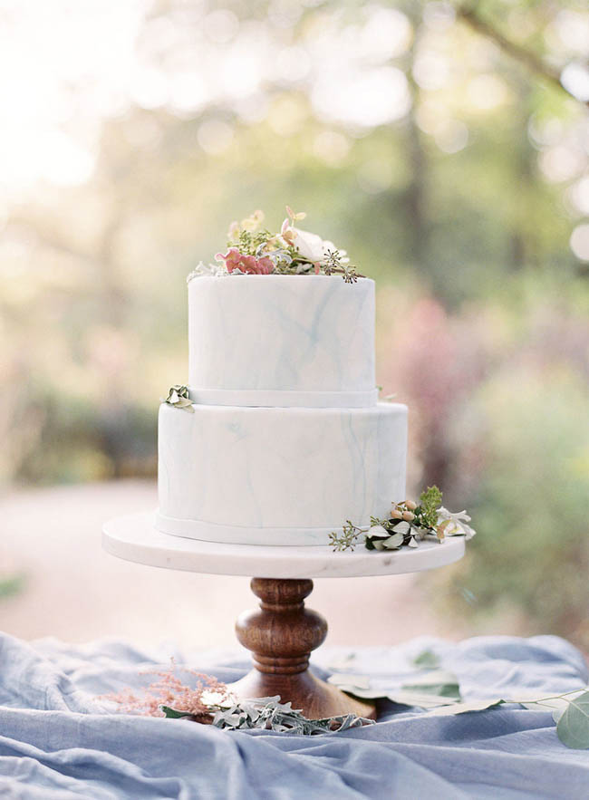 wedding cake effetto marmo