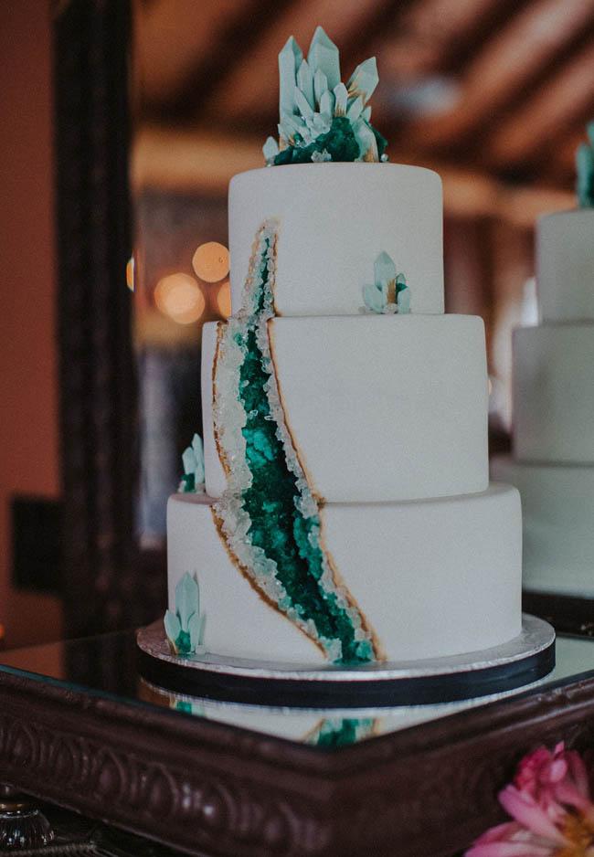 wedding cake geode