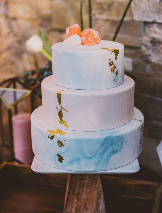 wedding cake pastello
