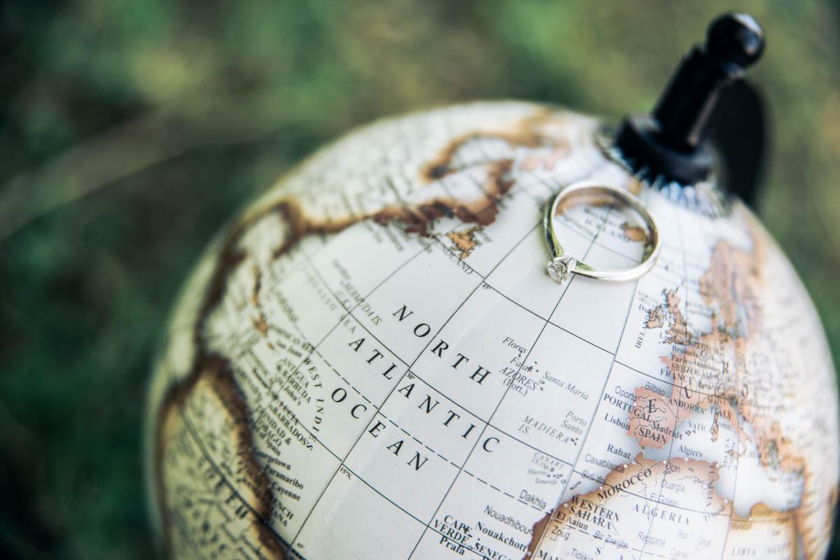 engagement session ispirata ai viaggi
