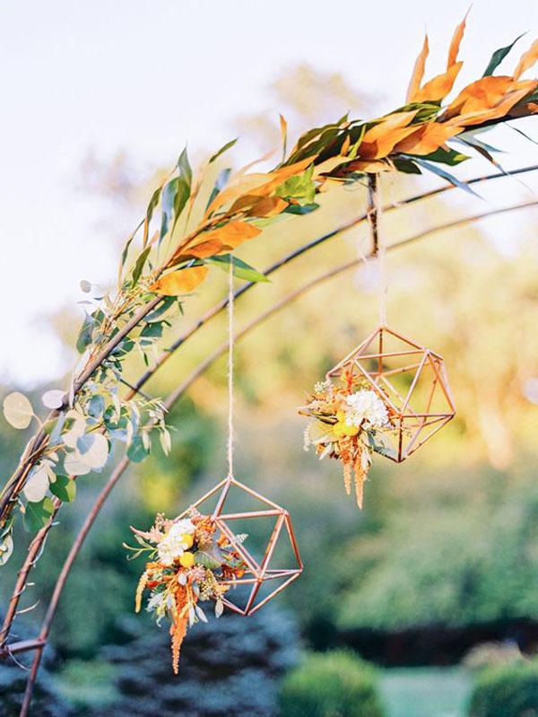 himmeli come decorazione matrimonio