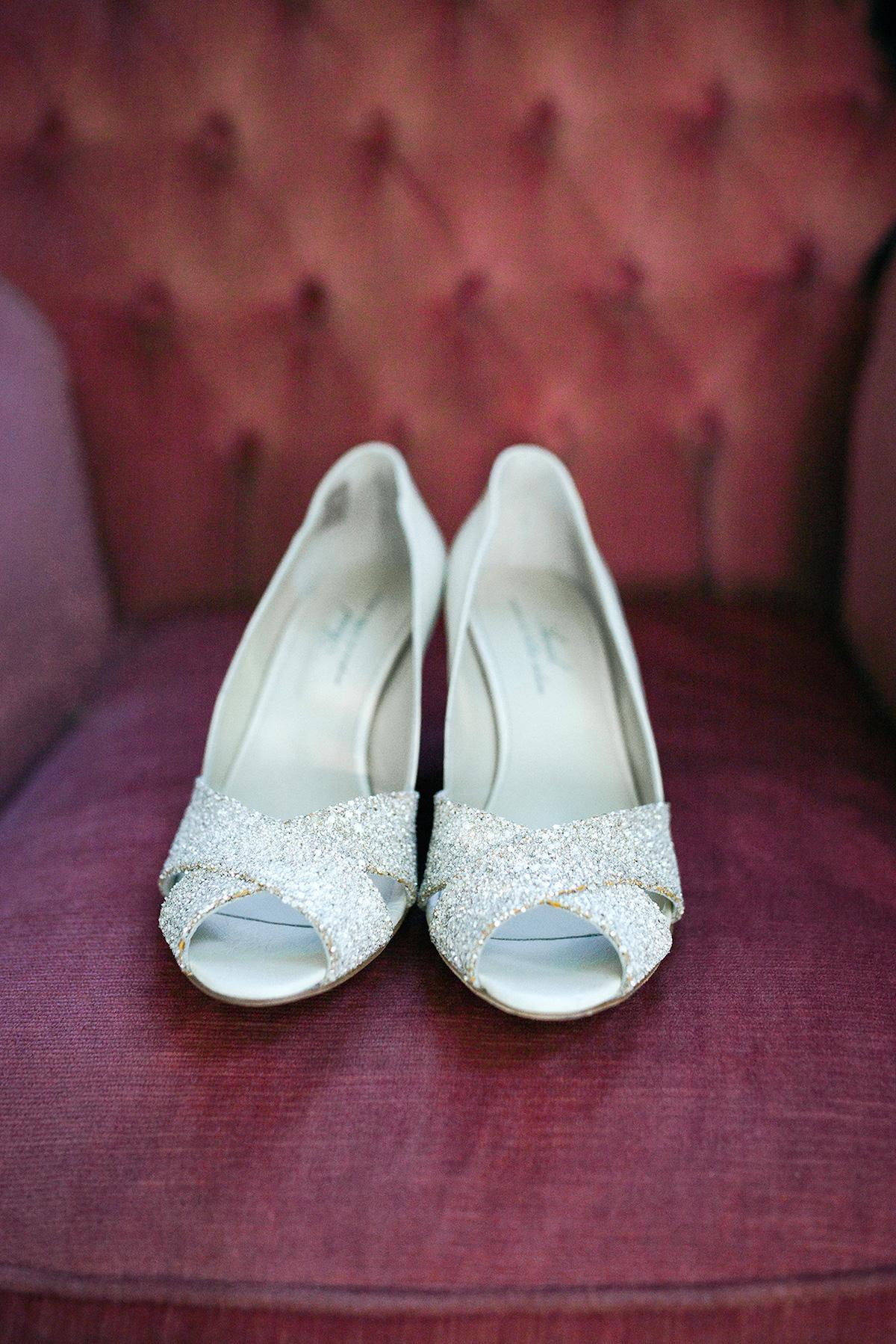scarpe open toe argento
