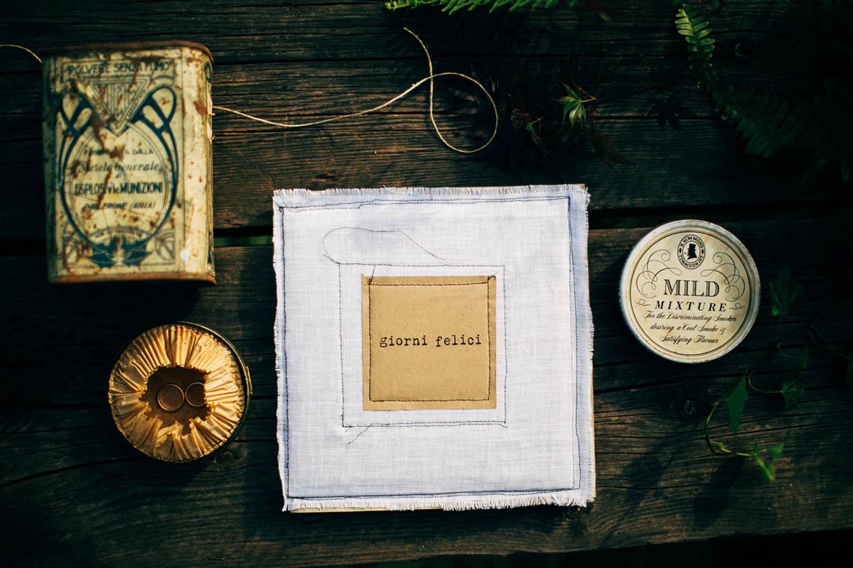 dettagli matrimonio vintage e handmade