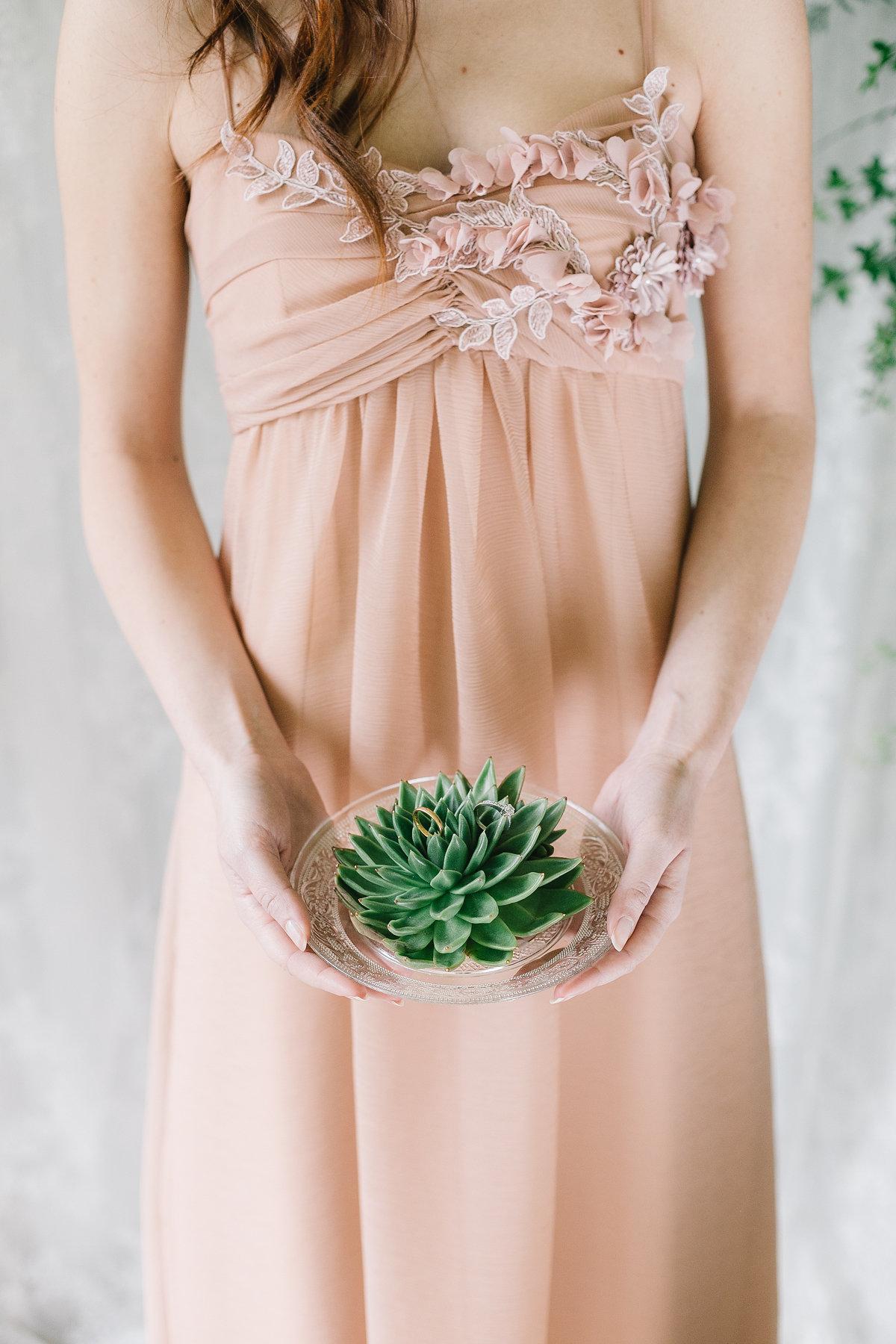 abito rosa cipria
