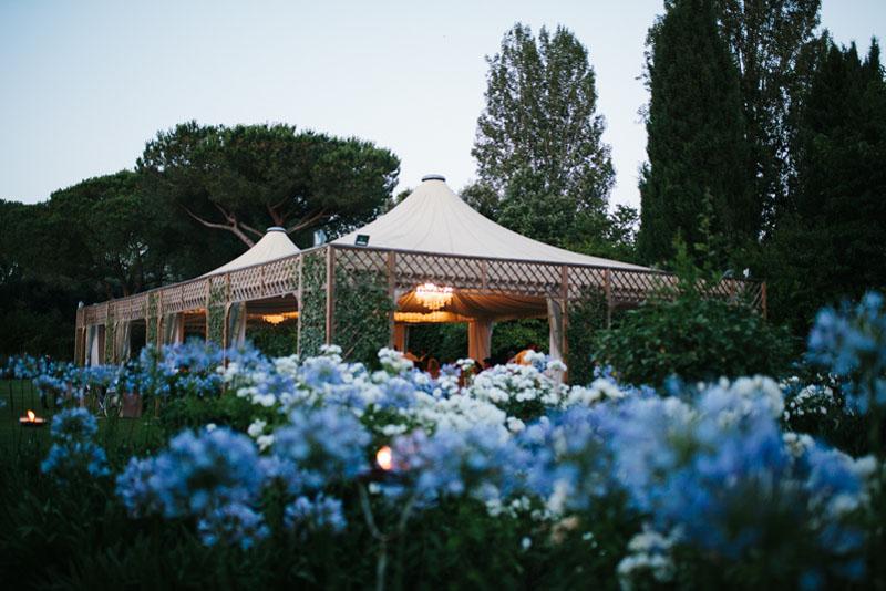 matrimonio a villa rosantica, roma
