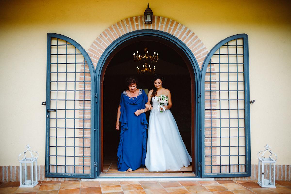 matrimonio bucolico all'aperto